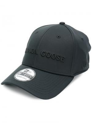 Embroidered baseball cap Canada Goose. Цвет: чёрный
