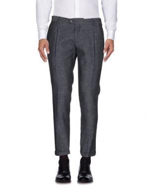 Повседневные брюки TAKESHY KUROSAWA. Цвет: черный