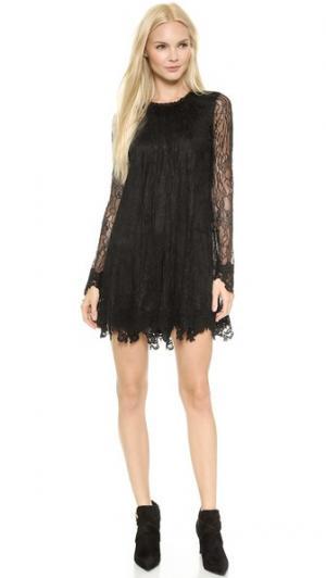 Кружевное короткое свободное платье Serafina Rachel Zoe