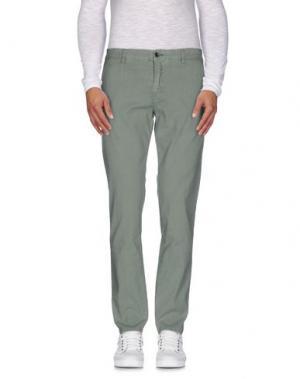 Повседневные брюки NICWAVE. Цвет: зеленый