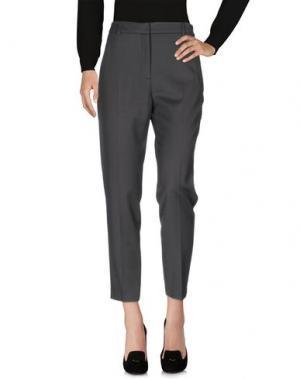 Повседневные брюки TARA JARMON. Цвет: свинцово-серый