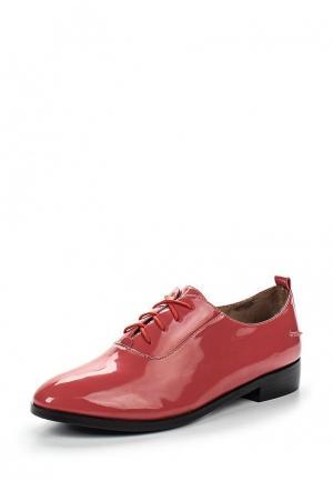 Ботинки Makfine. Цвет: коралловый