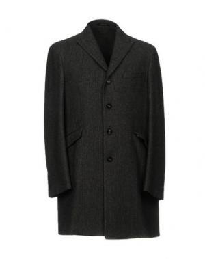 Пальто CALVARESI. Цвет: свинцово-серый