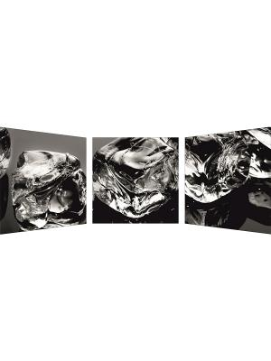 Картина модульная сложная 500*1260мм ДСТ. Цвет: серый