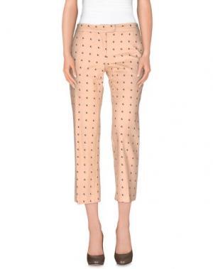 Повседневные брюки PROJECT 217. Цвет: песочный