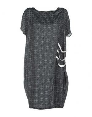 Короткое платье MILA SCHÖN CONCEPT. Цвет: черный