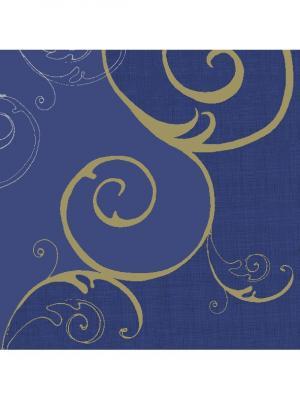 Салфетки 3-сл. 33 см; DUNI. Цвет: синий