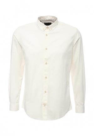 Рубашка Produkt. Цвет: бежевый
