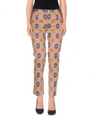 Повседневные брюки ARCHIVIO Firenze. Цвет: серый