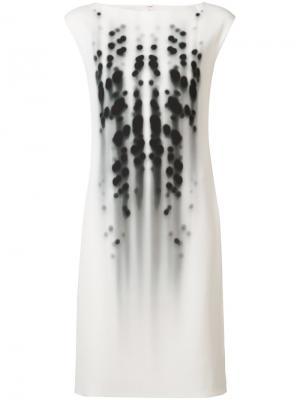 Shift dress Narciso Rodriguez. Цвет: белый