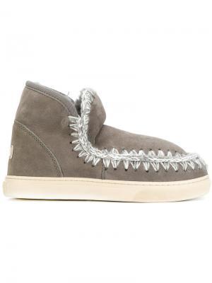 Эскимосские ботинки Mou. Цвет: серый
