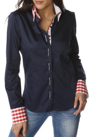 Рубашка GAZOIL. Цвет: dark blue