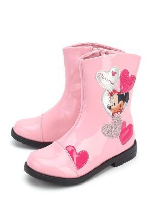 Полусапоги Disney. Цвет: розовый