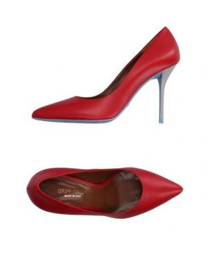 Туфли GRIFF ITALIA. Цвет: красный