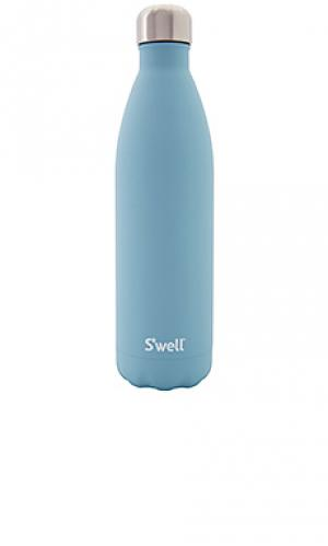 Бутылка для воды stone 25oz Swell S'well. Цвет: синий