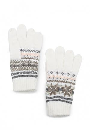 Перчатки Colins Colin's. Цвет: бежевый