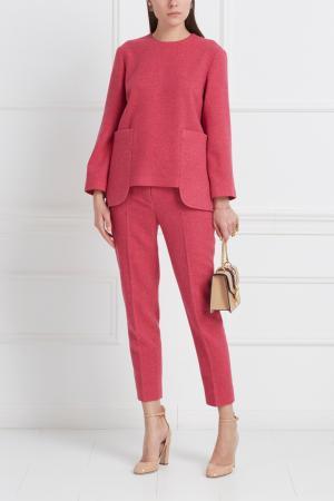 Шерстяной костюм Freshblood. Цвет: розовый