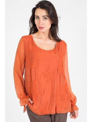 Блуза Amado Barcelona. Цвет: оранжевый