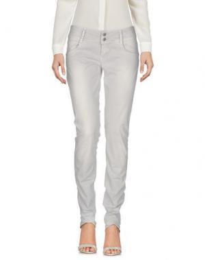 Повседневные брюки HEAVY PROJECT. Цвет: светло-серый