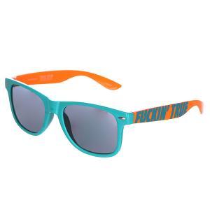 Очки  Fucking True Turquoise Orange TrueSpin. Цвет: оранжевый,голубой