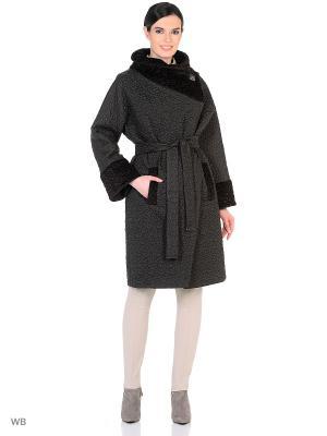 Пальто Socrat. Цвет: темно-коричневый