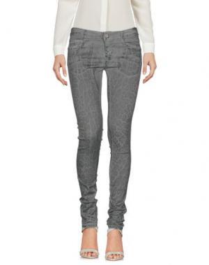 Повседневные брюки DENNY ROSE. Цвет: серый
