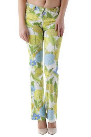 Pants HUSKY. Цвет: white, yellow, green