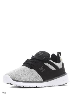 Кроссовки DC Shoes. Цвет: черный, белый