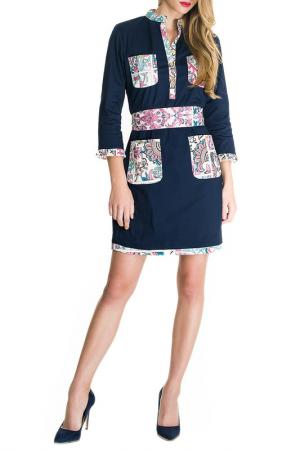 Платье Almatrichi. Цвет: navy
