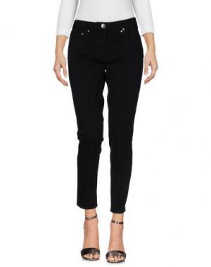 Джинсовые брюки NOVEMB3R. Цвет: черный