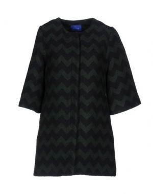 Пальто ANONYME DESIGNERS. Цвет: темно-зеленый
