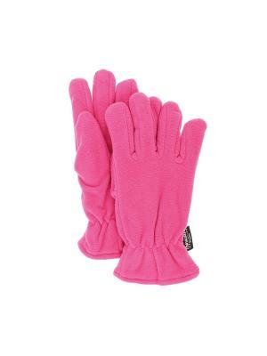 Перчатки IGNITE. Цвет: розовый