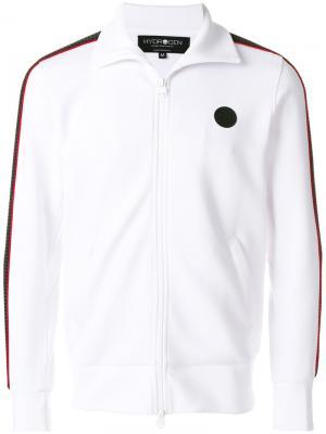 Спортивная куртка с полосками на рукавах Hydrogen. Цвет: белый
