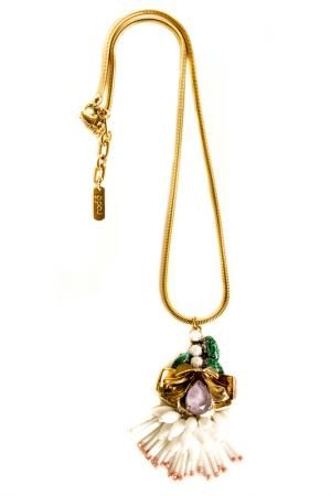Ожерелье RADA. Цвет: фиолетовый