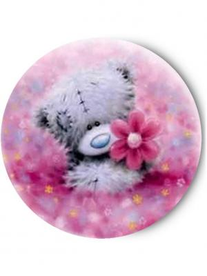 Зеркальце Tina Bolotina. Цвет: серый, розовый