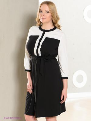 Платье LE MONIQUE. Цвет: черный