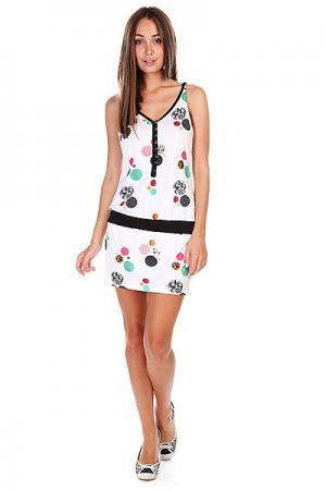Платье женское  Zyws09-41011 White Zoo York. Цвет: белый