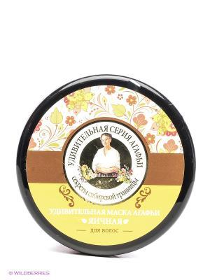 Маска для волос Яичная Рецепты бабушки Агафьи. Цвет: желтый