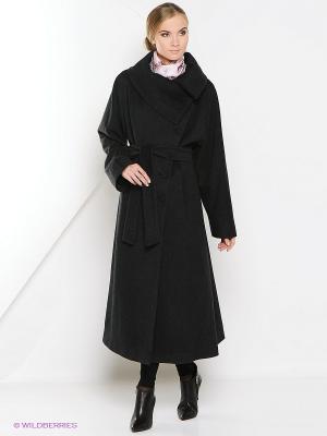 Пальто Estrade. Цвет: темно-серый