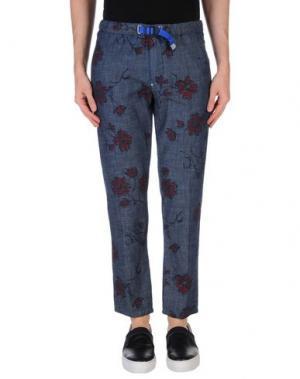 Джинсовые брюки WHITE SAND 88. Цвет: синий