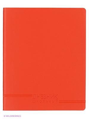 Красный (ДИК164803) ДНЕВНИК (ИСКУССТВ. КОЖА) Канц-Эксмо. Цвет: красный