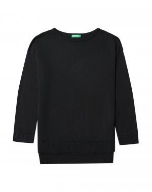 Джемпер Benetton. Цвет: черный