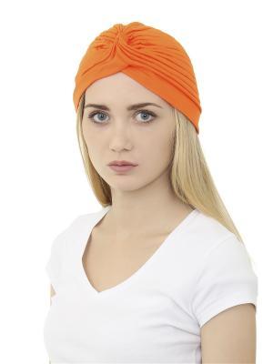Тюрбан Olere. Цвет: оранжевый