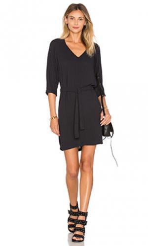 Платье magdalena American Vintage. Цвет: черный