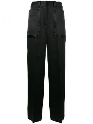 Широкие брюки Cyrus Roksanda. Цвет: чёрный