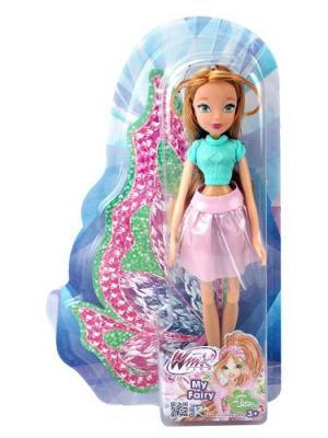 Кукла Winx Club Городская магия-2, Flora. Цвет: розовый