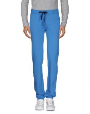 Повседневные брюки VIRTUS PALESTRE. Цвет: лазурный