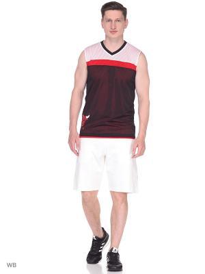 Спортивная Майка Smr Rn Rev Sl Nbacbu Adidas. Цвет: красный, белый, черный