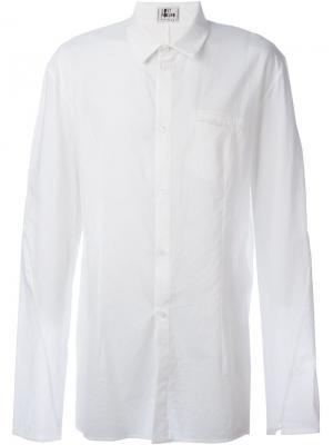 Рубашка с широкими рукавами Lost & Found Ria Dunn. Цвет: белый