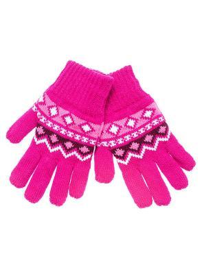 Перчатки FOMAS. Цвет: фуксия, розовый